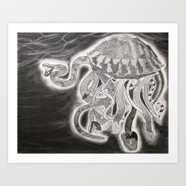 Snurtlefish Art Print
