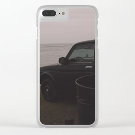 Dreamy Beach Clear iPhone Case