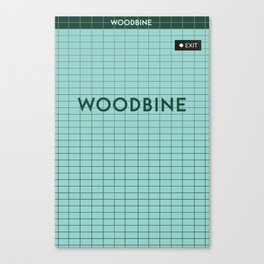 WOODBINE | Subway Station Canvas Print