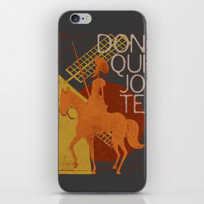 Books Collection: Don Quixote iPhone Skin