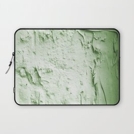 Damaged wall pic in background with green color, ready for clothes,furnitures, iphone cases Laptop Sleeve