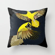 Blue Jays. Throw Pillow