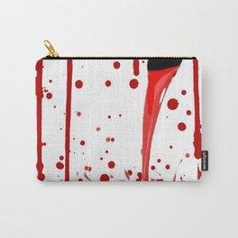 BLEEDING RED ART Carry-All Pouch
