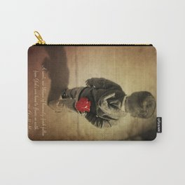 Blossom of humanity Carry-All Pouch