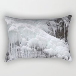 Cloaked in Ice II Rectangular Pillow
