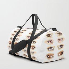 Vampire Eyes Duffle Bag