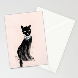 Spoiled Kitty Lifestyle Illustration Stationery Cards