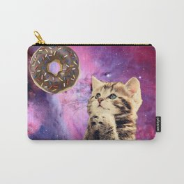 Donut Praying Cat Carry-All Pouch