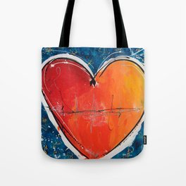 Go with you heart Tote Bag