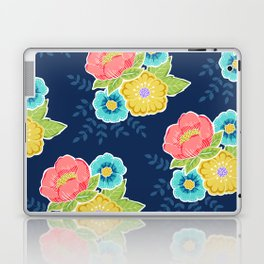 Floral Beauty - Midnight Laptop & iPad Skin