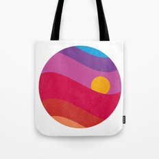 Pink Sunset Tote Bag