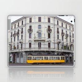 Milan Yellow Street Car Laptop & iPad Skin