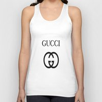 gucci Tank Tops featuring Gucci by I Love Decor
