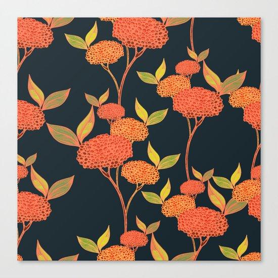 Orange berries. Canvas Print