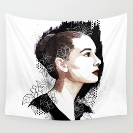 Audrey Hepburn Wall Tapestry