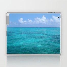 Caribbean Blues Laptop & iPad Skin