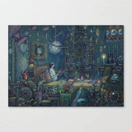 Howl`s room Canvas Print
