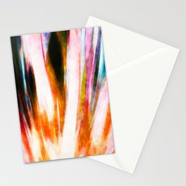 Color abstract art Stationery Cards