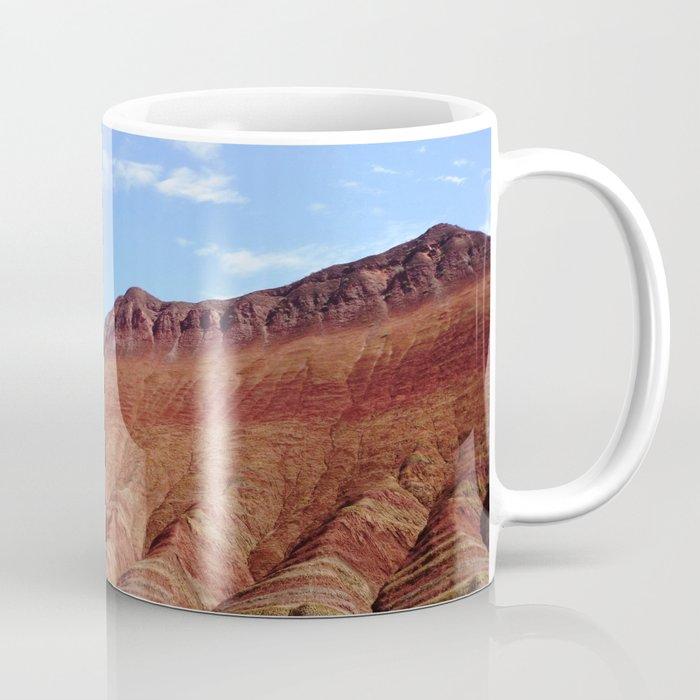 colorful mineral mountain photography 2 Coffee Mug