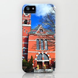 Abbot Hall, Marblehead, MA iPhone Case