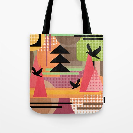 3 Flew Over. Tote Bag