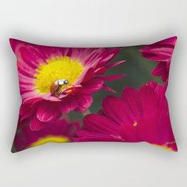 Little Red Ladybug Rectangular Pillow