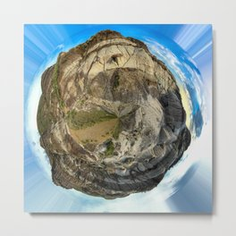 Canadian Badlands Metal Print