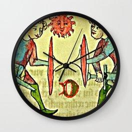 Judicial Combat Wall Clock