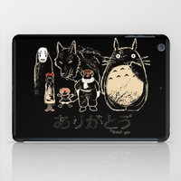 miyazaki iPad Cases featuring Tribute for Miyazaki by le.duc