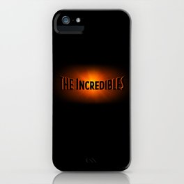 The Incredibles iPhone Case