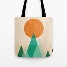 No mountains high enough Tote Bag