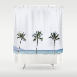 Palm trees 6 Shower Curtain