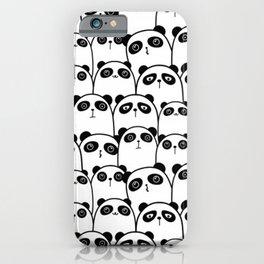 The Cute Pandas iPhone Case