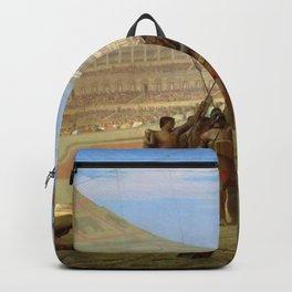 Jean-Leon Gerome - Ave Caesar, Morituri Te Salutant - Digital Remastered Edition Backpack