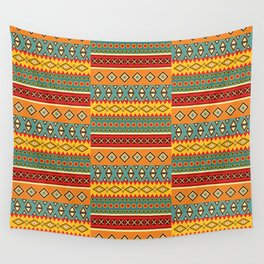 Barefooted in sarong Wall Tapestry