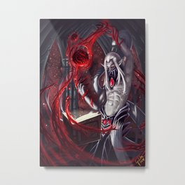 Blood magic experiments Metal Print
