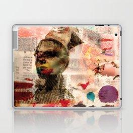 Lady in Pink Laptop & iPad Skin