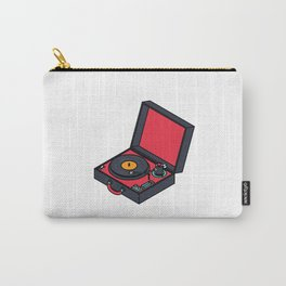 Retro Turntable Carry-All Pouch