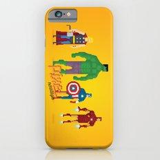 Super Heroes - Pixel Nostalgia iPhone 6s Slim Case