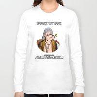 popeye Long Sleeve T-shirts featuring POP ICON / POPEYE-KHAN 025 by Lazy Bones Studios