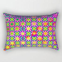 0107 Colorful serious pattern ... Rectangular Pillow