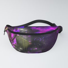 Space Galaxy Cube Planets Fanny Pack
