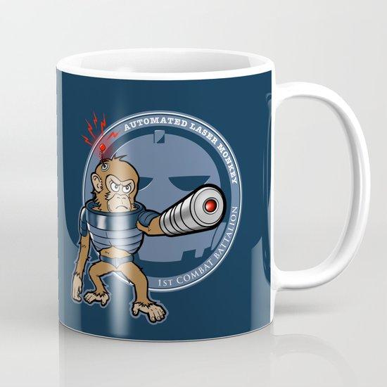 Automated Laser Monkey Mug