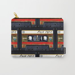 Retro classic vintage gold mix cassette tape Carry-All Pouch