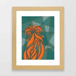 Beardly Framed Art Print