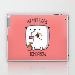 MY DIET STARS TOMORROW Laptop & iPad Skin