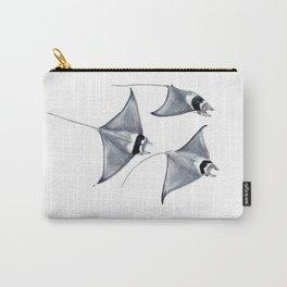 Devil fish Manta ray Mobula mobular Carry-All Pouch