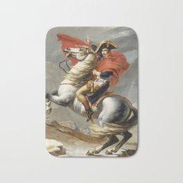 Napoleon Crossing the Alps Bath Mat