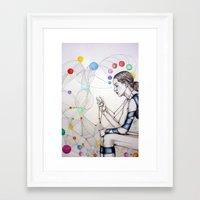 destiny Framed Art Prints featuring Destiny by Heaven7