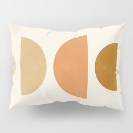 Abstraction_Geometric_Shape_Moon_Sun_Minimalism_001D Pillow Sham